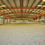 synthetic equine surface